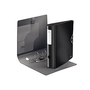 Bürobedarf ordner  Leitz 10471095 Qualitäts-Ordner 180° Active Solid, breit, schwarz ...