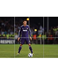 CRISTIANO RONALDO REAL MADRID FOOTBALL GIANT WALL ART PRINT PICTURE AFICHE CARTEL IMPRIMIR CARTELLO POSTER G1158