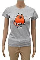 Womens cat T.shirt