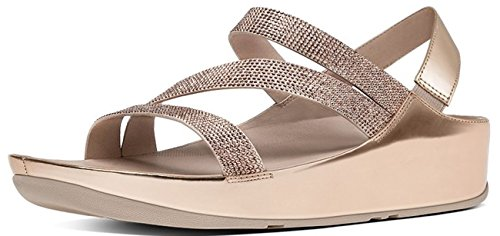 Fitflop CRYSTALL Z-STRAP Sandale 2017 rose gold Gold