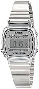 Casio Collection Frauen-Armbanduhr Digital Edelstahl – LA670WEA-7EF