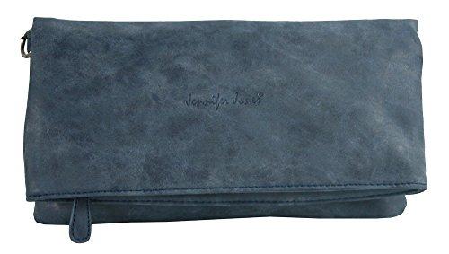c5fe13505d66d ... Jennifer Jones Tasche Damen Handtasche Umhängetasche Schultertasche  Clutch Groß - 3 Tragevarianten Crossbody oder Clutch ...