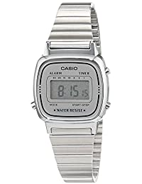 Casio Collection – Reloj Mujer Digital con Correa de Acero Inoxidable – LA670WEA-7EF