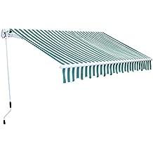 Markise Gelenkarm Gelenkarmmarkise Gelenkmarkise Sonnenschutz 300 x 250 cm Aluminium