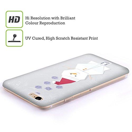 Head Case Designs Snitch Oscar E Howard Nero E Bianco Cover Morbida In Gel Per Apple iPhone 6 Plus / 6s Plus Pupazzo Di Neve