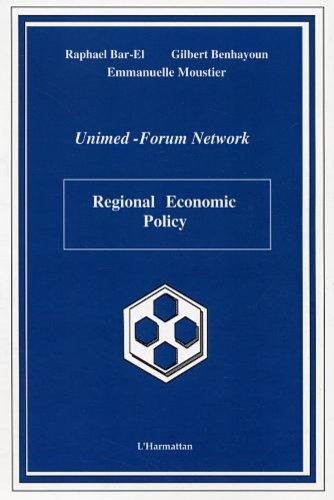 Regional Economic Policy par Raphael Bar-El