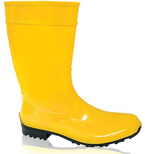 Botas impermeables amarillas de Mujer