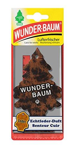 Wunder-Baum 134244/24 Lufterfrischer 24-er Box Echt Leder