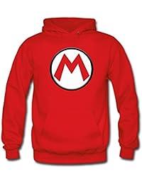 """Sudadera Mario bros con el diseño logo""""M"""" (Talla: TALLA-XL)"""