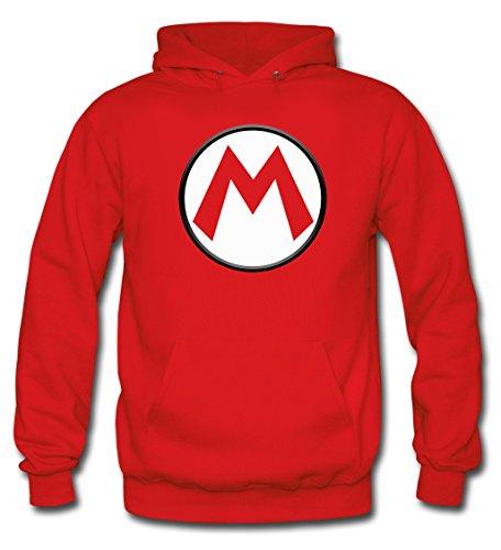 Sudadera Super Mario bros con el diseño logo'M' (Talla: 11-12 años)