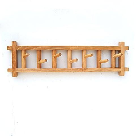 Cintre multifonction en bois massif haut de gamme Porte-manteau Branches