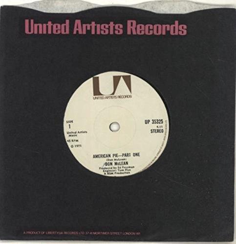 American Pie - Solid (Don Mclean American Pie Vinyl)