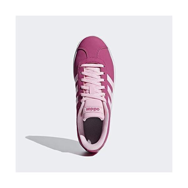 adidas VL Court 2.0 K, Scarpe da Fitness Unisex – Bambini 3 spesavip