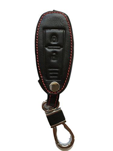 MAINT-Lederetuis Schlüsseltasche Hülle Etui LEDER – Schutz & Schlüsselanhänger Ersatz - Schlüssel Cover – für Swift Kizashi Ignis Baleno Vitara SX4 S-Cross