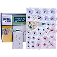 Kays Schröpfen Set 32 Vakuum-Air-Saugnäpfe Mit Pump-Griff, Chinesische Schröpfen Therapie-Set, Für Rücken/Nackenschmerzen... preisvergleich bei billige-tabletten.eu