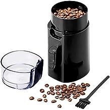 Molinillo de Cafe Electricos Semillas Especias Frutos Secos Amoladora Portable del Acero Inoxidable con Cepillo para