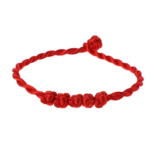 SimpleLife Kabbalah Red String Bracelet Proteccion para la Buena Suerte contra el Mal de Ojo Brazalete para Mujeres ninas