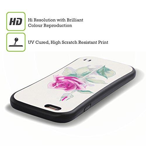 Ufficiale Giulio Rossi Rosa Collezione Floreale Case Ibrida per Apple iPhone 6 / 6s Rosa