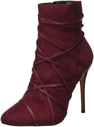 PRIMA DONNA 081510716mf, Bottes Classiques Femme Rouge (Bordeaux)