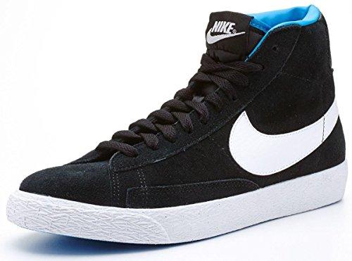 Nike Uni Buty Blazer Mid Vintage (GS) Zehenkappen, Schwarz (Black), 36.5 EU