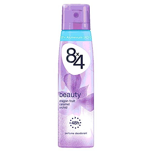 8x4 Deo Beauty Spray, ohne Aluminium, 6er Pack (6 x 150 ml)
