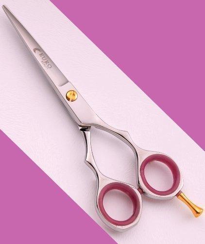 Ciseaux de coiffure légers et Sharp Cisailles de coiffeur 5.5 Titane Japanese Steel J2