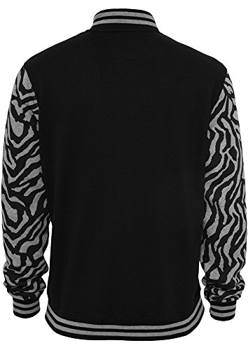 Urban Classics 2-Tone Zebra College t null Grey/Bl Grey