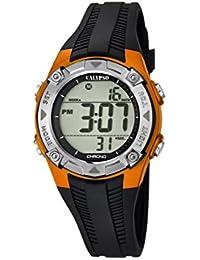 Calypso - K5685/7 - Montre Garçons - Quartz - Digitale - Alarme - Chronomètre - Bracelet plastique noir