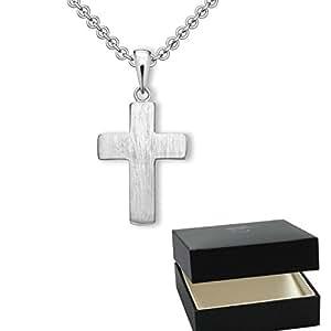 Kreuz Kette Silber 925 Kreuzkette + Luxusetui + Silberanhänger echt ... 2a5f611325