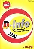 D-Info vor und zurück 2006