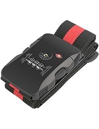 BlueBeach® TSA cadenas bagage serrure de voyage pour valise bagages sécurité 3 chiffres combinaison numéro cadenas
