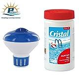 PoolSpezi Cristal Bayrol - Set per la Cura dell'Acqua della Piscina, 1 Pezzo