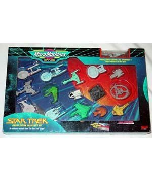 Micro Machines Star Trek Limited Edition Collector's Set by Micro Machines