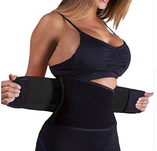 2c082edac9 Miss Moly Adjustable Waist Trimmer Belt Waist Trainer for Weight Loss ...