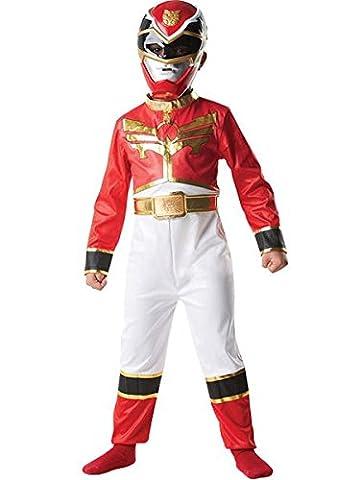 Power Rangers - I-886667S - Costume Classique Méga Force - Rouge - Taille 3 - 4 ans