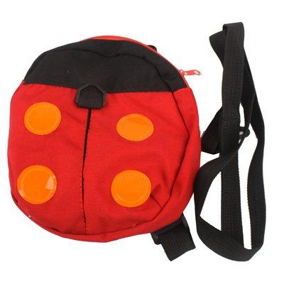 Mariechenkäfer Kinderrucksack mit Sicherheitsleine / mit Leine als Sturzschutz / schmerzfrei Laufen lernen