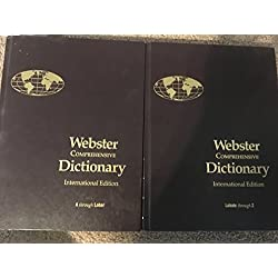 Webster Comprehensive Dictionary: International Edition
