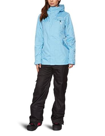 O'Neill Damen Snow Jacke PWFR RAINBOW, faded denim, S, 255029