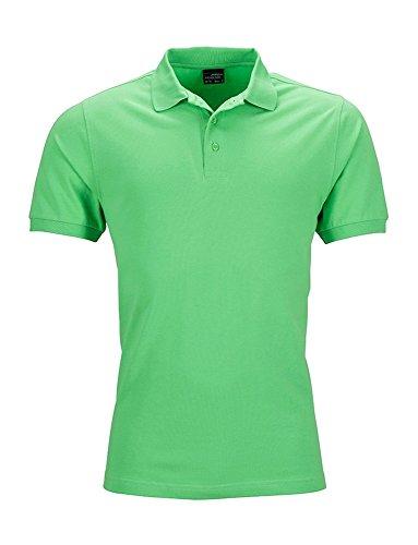 Elastisches Herren Polo Shirt Poloshirt Hemd Stretchable lime-green