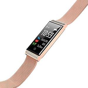 Chenang X11 Intelligente Uhr,Frau Smart Watch mit Schlafüberwachung,Fitness Armband mit Pulsmesser,Schrittzähler Uhr,Health & Fitness Armband,Aktivitätstracker Fitnessarmband