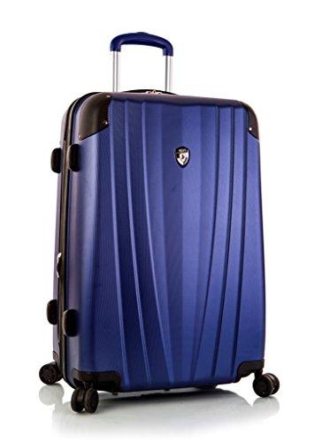 ... 50% SALE ... PREMIUM DESIGNER Hartschalen Koffer - Heys Core Velocity Grau - Trolley mit 4 Rollen Medium Blau