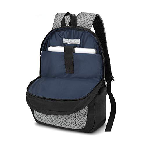 Best tommy hilfiger backpack in India 2020 Tommy Hilfiger 19.53 Ltrs Black Laptop Backpack (TH/BIKOL01VIS) Image 5