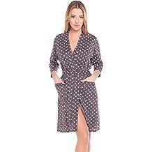 Italian Fashion IF Bata en Algodón Mujer N2GR1