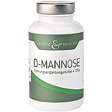 D Mannose Pulver - Vorteilspackung mit 120g - Echte 2 Monatspackung - Made in Germany - vegan und natürlich