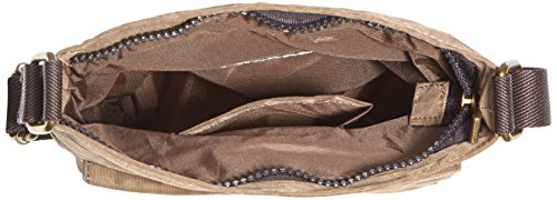 Camel Journey Borsa a tracolla, Marrone (braun), 18x2x22 Beige (sand)