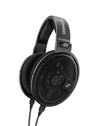 Sennheiser HD 660S -HiRes Audiophile Open Back Headphone (Black)