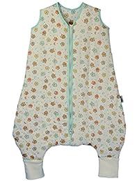 Saco de Dormir con Pies de Verano Slumbersac para Bebé aprox. 1 Tog - Búho - disponible en 5 tallas