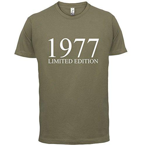 1977 Limierte Auflage / Limited Edition - 40. Geburtstag - Herren T-Shirt - 13 Farben Khaki