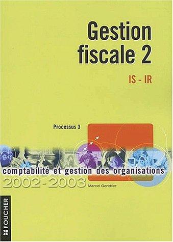 Gestion fiscale 2, P3, édition 2002-2003
