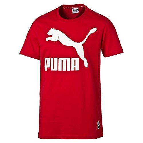 Puma Damen Archiv T-Shirt S Barbados Cherry (Rotes Moss T-shirt)